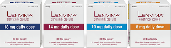 Lenvima packaging
